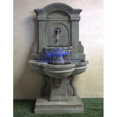 Arbois Concrete Wall Fountain Giannini Garden Ornaments