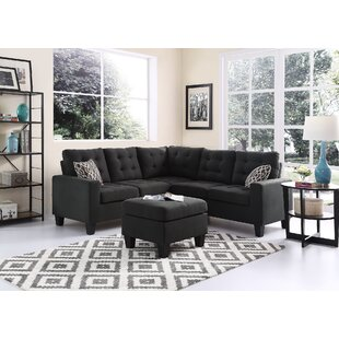 Griesinger Sectional with Ottoman