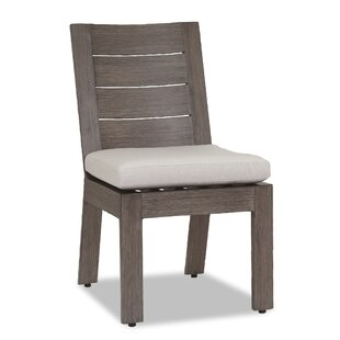 Laguna Patio Dining Chair with Cushion Sunset West