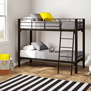 Price comparison Alonzo Twin Over Twin Bunk Bed by Mack & Milo Reviews (2019) & Buyer's Guide
