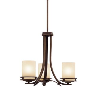 Andover Mills Sangster 3-Light Shaded Chandelier
