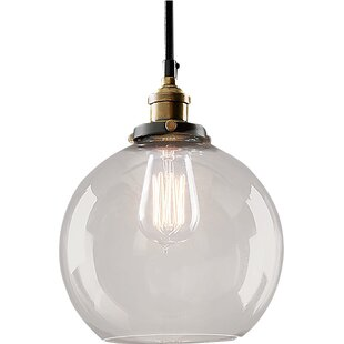 Bertram 1 Light Globe Pend..