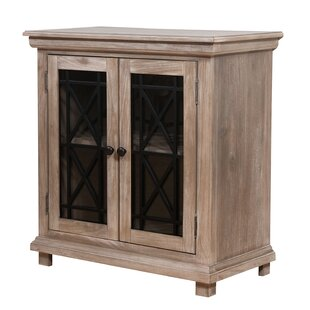 Tibbs Muntin 2 Door Accent Cabinet by Gracie Oaks