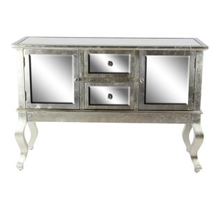 Maris Rectangular Mirror Paneled Server