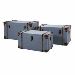 Darby Home Co Dries 3 Piece Trunk Set