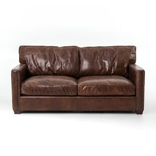Design Tree Home Lark Leather Sofa