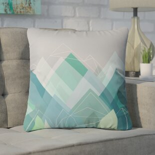 Cote Graphic Outdoor Throw Pillow