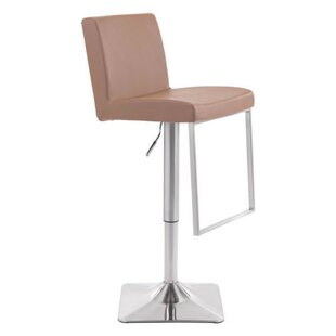 Setsuko Adjustable Height Bar Stool