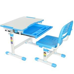 Vivo Height Adjustable Children's Desk with Chair