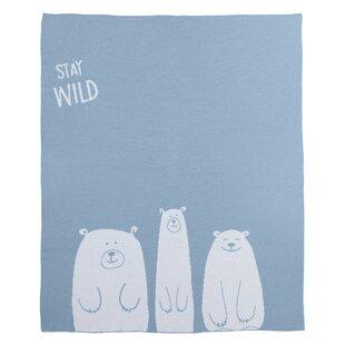 Purchase Philson Stay Wild Bear Baby Blanket ByHarriet Bee