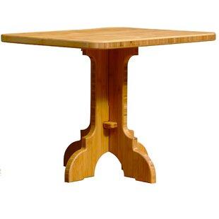 Loon Peak Burliegh Teak Side Table
