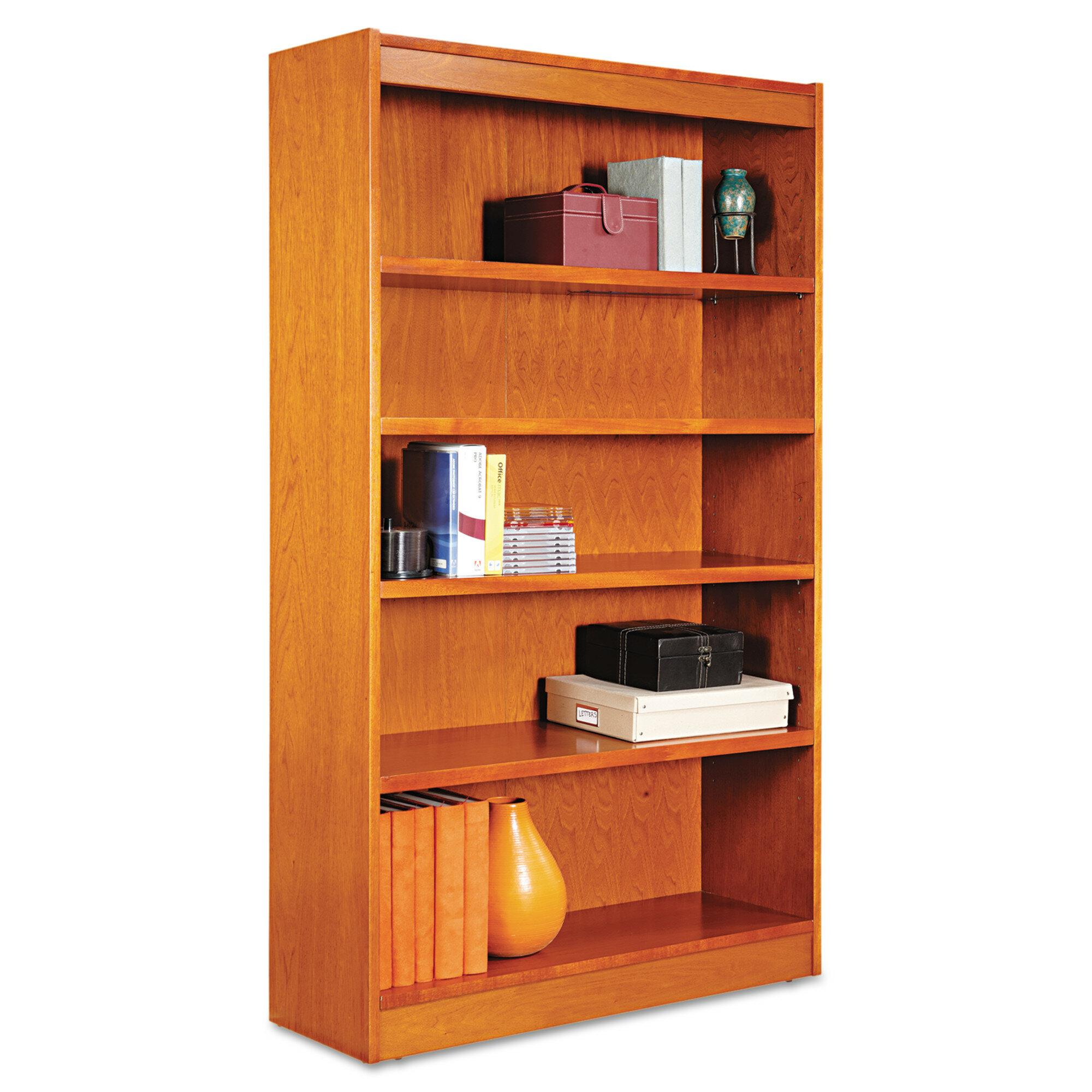 Alera Square Corner Standard Bookcase Wayfair