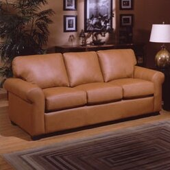 Shop West Point Sleeper Sofa by Omnia Leather
