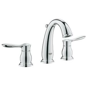 Parkfield Double Handle Widespread Bathroom Faucet