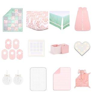 Shop For Medallion Medley Essentials 18 Piece Crib Bedding Set ByThe Peanut Shell
