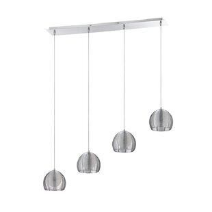 La Cage 4-Light Pendant by Kendal Lighting
