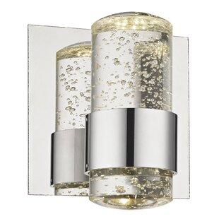 Brayden Studio Rudnick 1-Light LED Bath Sconce