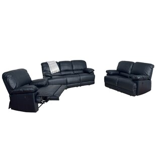 Reviews Coyer Reclining 3 Piece Living Room Set by Red Barrel Studio Reviews (2019) & Buyer's Guide