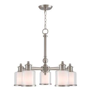 Lisle 5-Light Shaded Chandelier
