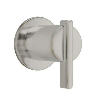 Berwick On/off Volume Control Shower Faucet Trim With Lever Handle American Standard Color: Satin Nickel