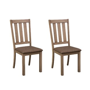 Loggins Dining Chair (Set of 2) by Gracie..