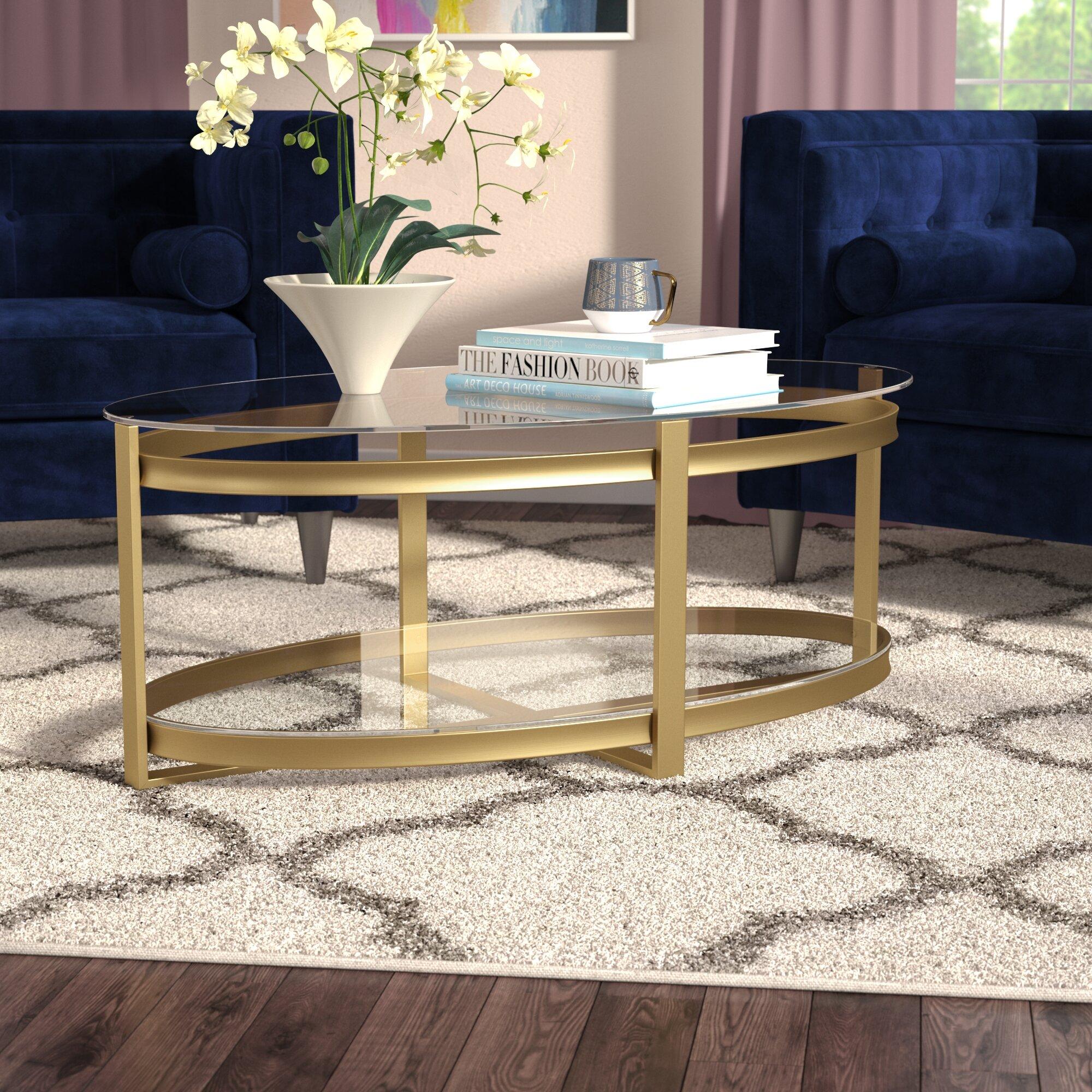 Mercer41 Valentine Coffee Table Reviews Wayfair