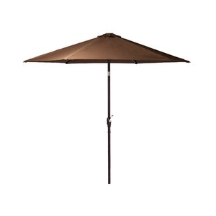 PatioSense Grayton 9' Lighted Umbrella