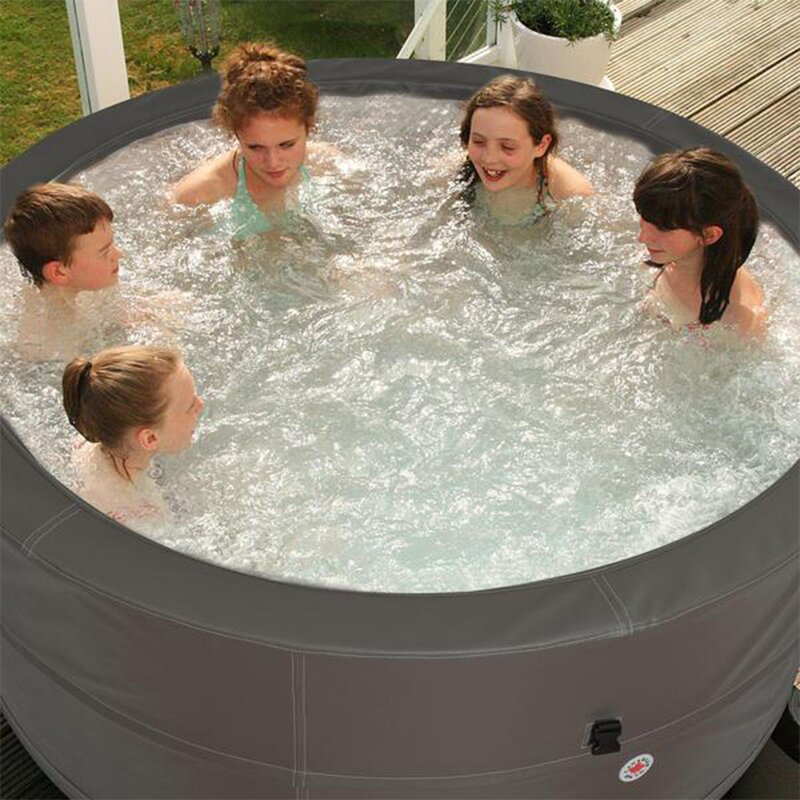Merveilleux Looking For An Inflatable Hot Tub That You Can Easily Carry To Your Outdoor  Adventures? This Plug And Play Spa From Swift Current Is The Best Portable  Hot ...