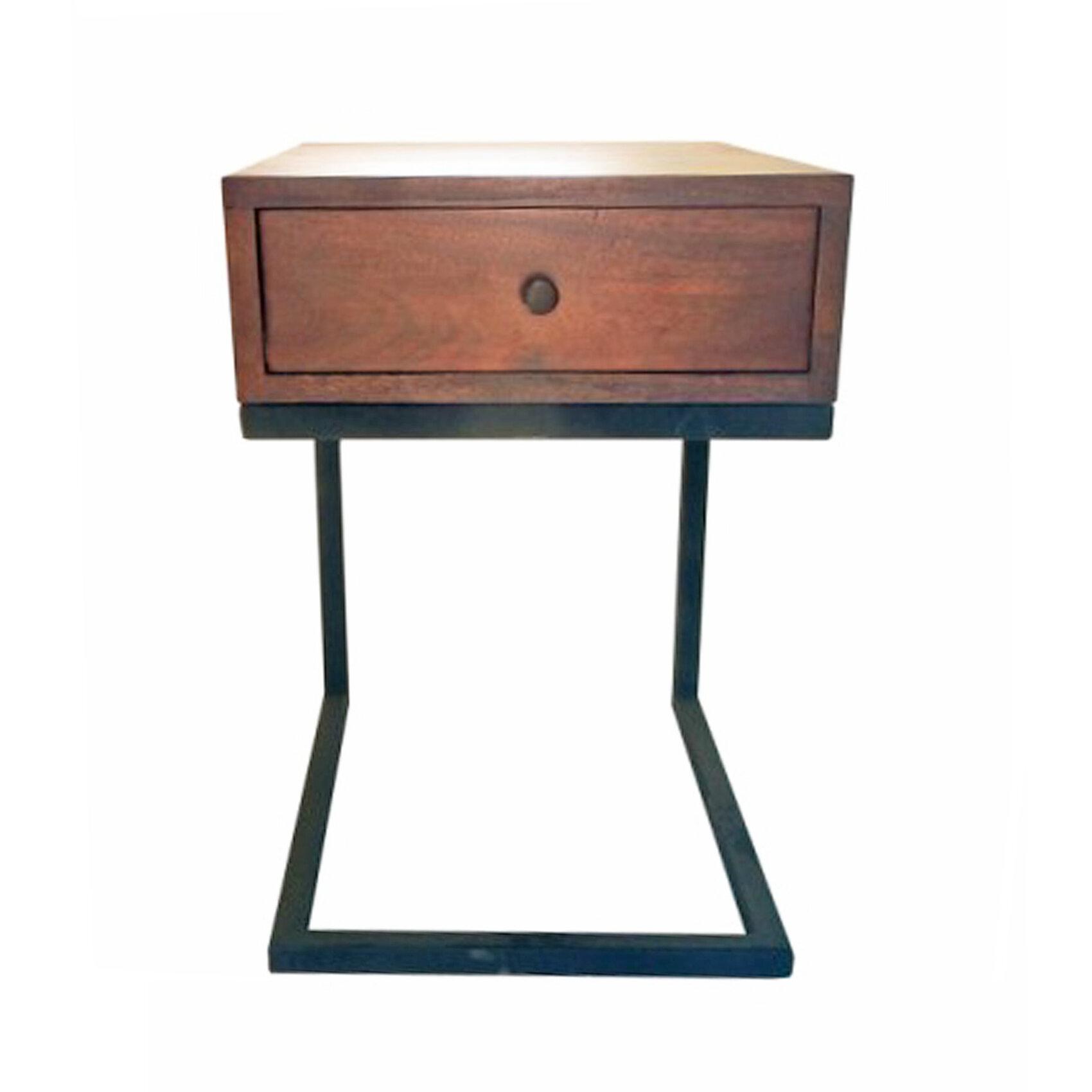 Hudson 1 Drawer Nightstand