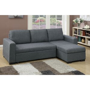 Bobkona Jassi Sleeper Sectional  sc 1 st  Wayfair : sectional sleepers with chaise - Sectionals, Sofas & Couches