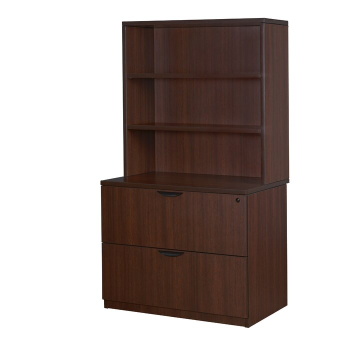 Latitude Run Linh 2 drawer lateral Filing Cabinet   Item# 6674