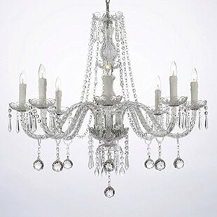 Willa Arlo Interiors Evon 8-Light LED Candle Style Chandelier