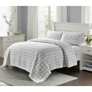 Tottenham Cotton 3 Piece Quilt Set