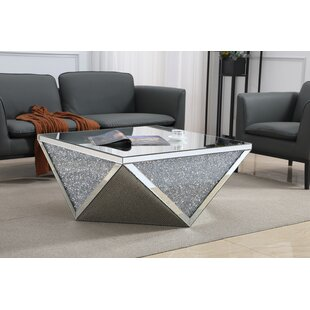 Affordable Zackery Crystal Coffee Table by Rosdorf Park Reviews (2019) & Buyer's Guide