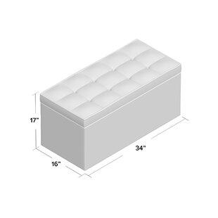 Ebern Designs Nydam Upholstered Storage B..