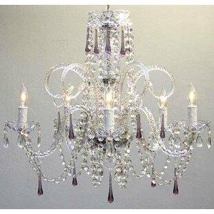 House of Hampton Jourdan 5-Light Candle Style Chandelier