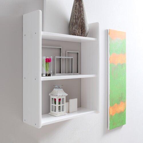 Schweberegal Ethridge | Wohnzimmer > Regale > Hängeregale | Weiß (kiefer) | Buche | ModernMoments