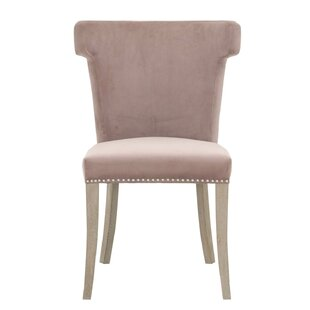 Manila Upholstered Dining Chair by Everly Quinn