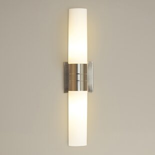 Townsville 2-Light Tube Wall Sconce By Wade Logan Wall Lights