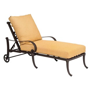Holland Adjustable Chaise Lounge by Woodard