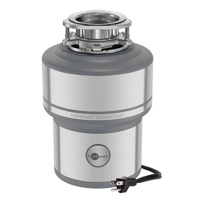 InSinkErator Evolution 1-HP Continuous Feed Noise Insulation Garbage Disposal