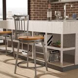 Pitts Swivel Bar & Counter Stool by Wrought Studio