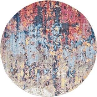 Downtown Chelsea Orange/Blue Area Rug by Jill Zarin™