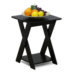 Ebern Designs Artesian Modern Criss-Crossed End Table