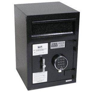 FireKing Depository Security File Safe with Electronic Lock by AmpliVox Sound Systems
