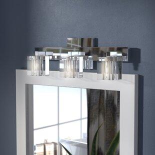 Ivy Bronx Bolan Contemporary 3-Light Vanity Light