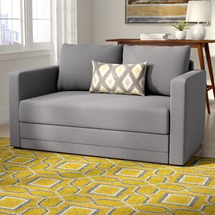 Find for Campanelli Sleeper Loveseat by Ebern Designs Reviews (2019) & Buyer's Guide
