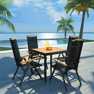 Jesse 4 Seater Dining Set By Sol 72 Outdoor