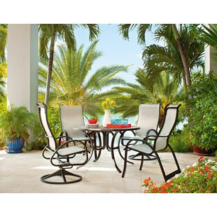 Aruba II 5 Piece Supreme Height Dining Set by Telescope Casual