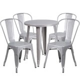 Aragon Metal Indoor/Outdoor 5 Piece Dining Set